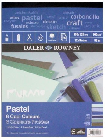 Daler Rowney Murano Pastel Pad Cool Colours