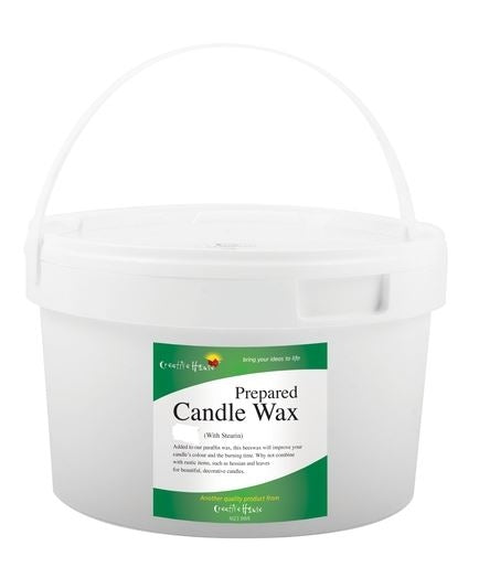 Candle Wax (With Stearin) 800g approx