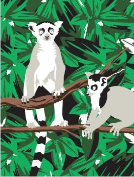 Reeves Lemur Medium Paint By Numbers