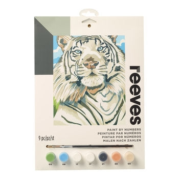 Reeves White Tiger Medium Paint By Numbers