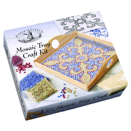 House of Crafts - Mosaic Tray Craft Kit