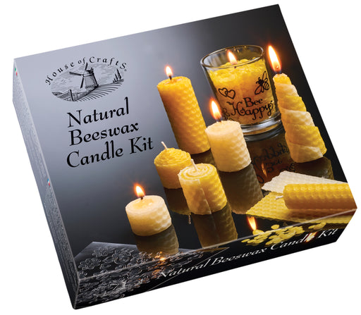 House of Crafts - Natural Beeswax Candle Kit