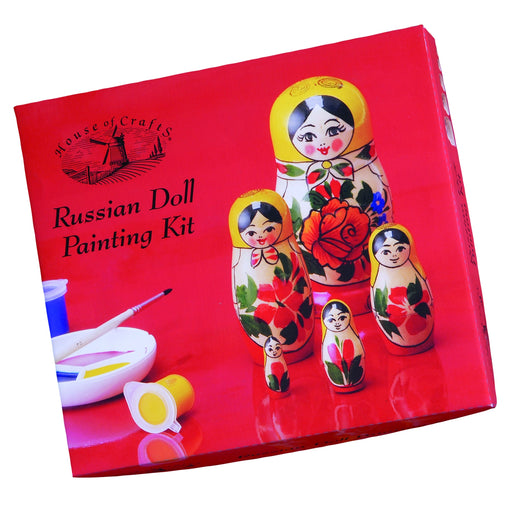 House of Crafts - Russian Doll Painting Kit