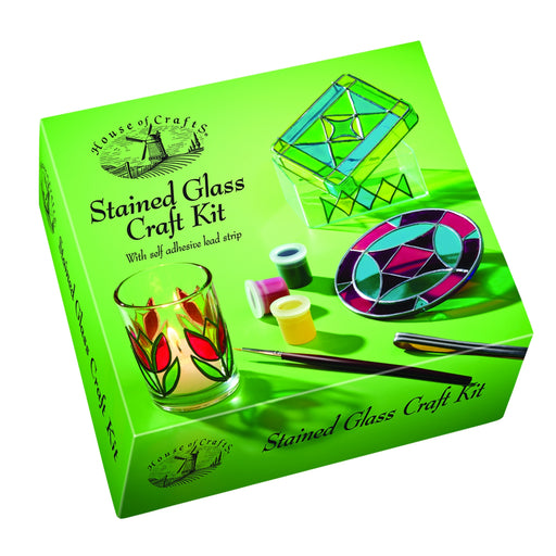 House of Crafts - Stained Glass Craft Kit