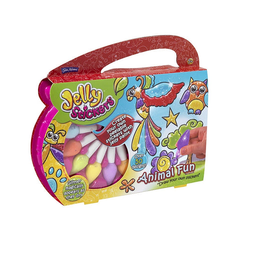 Jelly Stickers Animal Fun