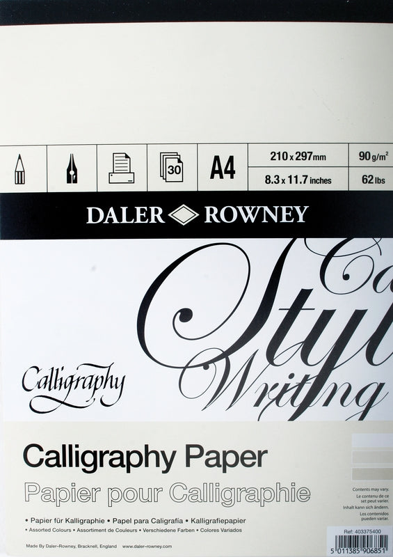 Daler Rowney Calligraphy Pad