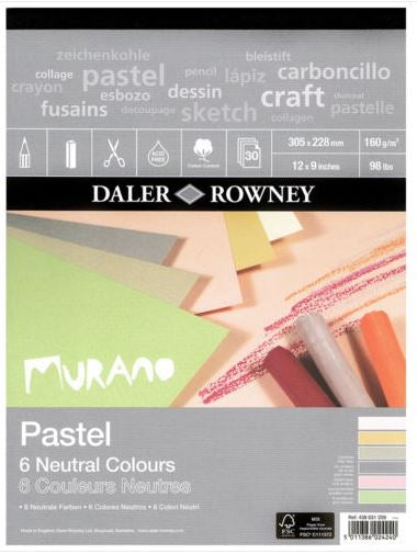 Daler Rowney Murano Pastel Pad Neutral Colours