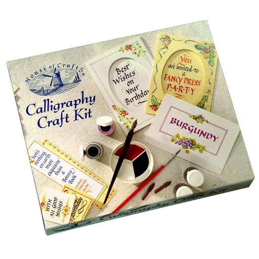 House of Crafts - Calligraphy Craft Kit