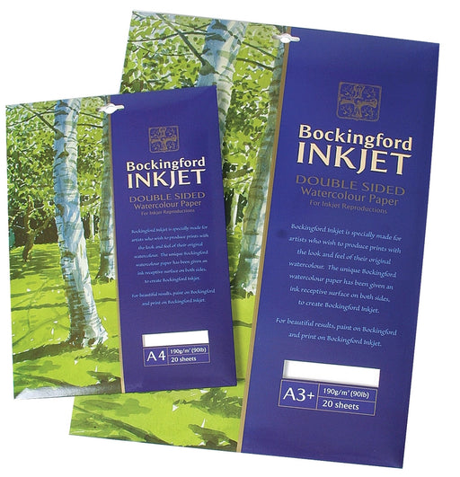 Bockingford Inkjet Paper 20 Sheets