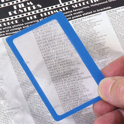Magnifying Sheet - Credit Card Size