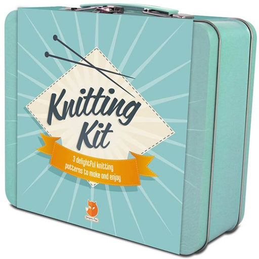 Knitting kit from Smart Fox tin