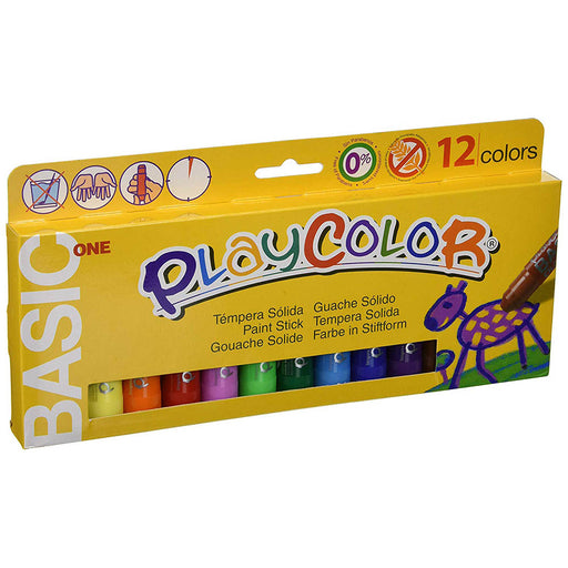 Playcolor One Standard colour sticks x 12