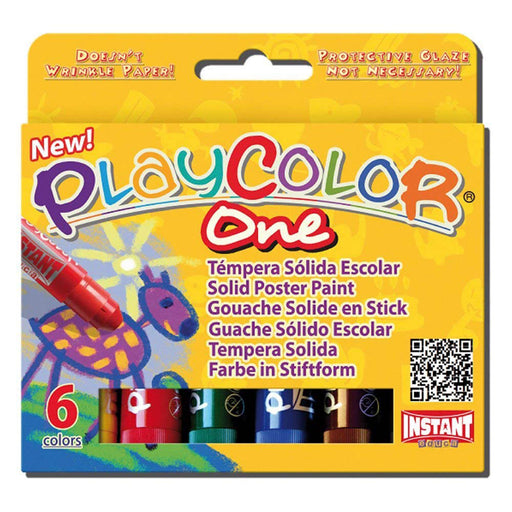 Playcolor One Standard colour sticks x 6
