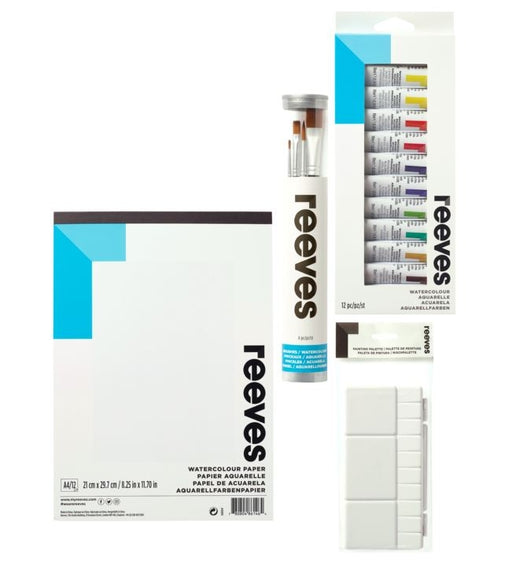 Reeves Watercolour Starter Set