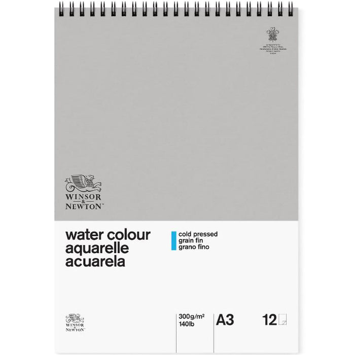 Winsor and Newton Spiral Watercolour Pad