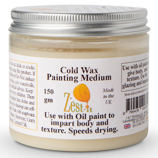 Zest it cold wax oil painting medium 150g