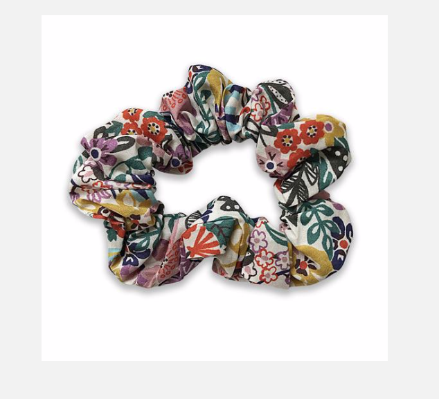 Fabric Hair Scrunchie in Various Colours & Patterns - Josie Joan's