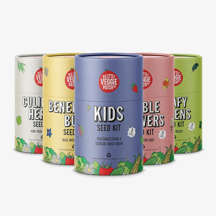 Seed Kit 'Kids' - The Little Veggie Patch Co
