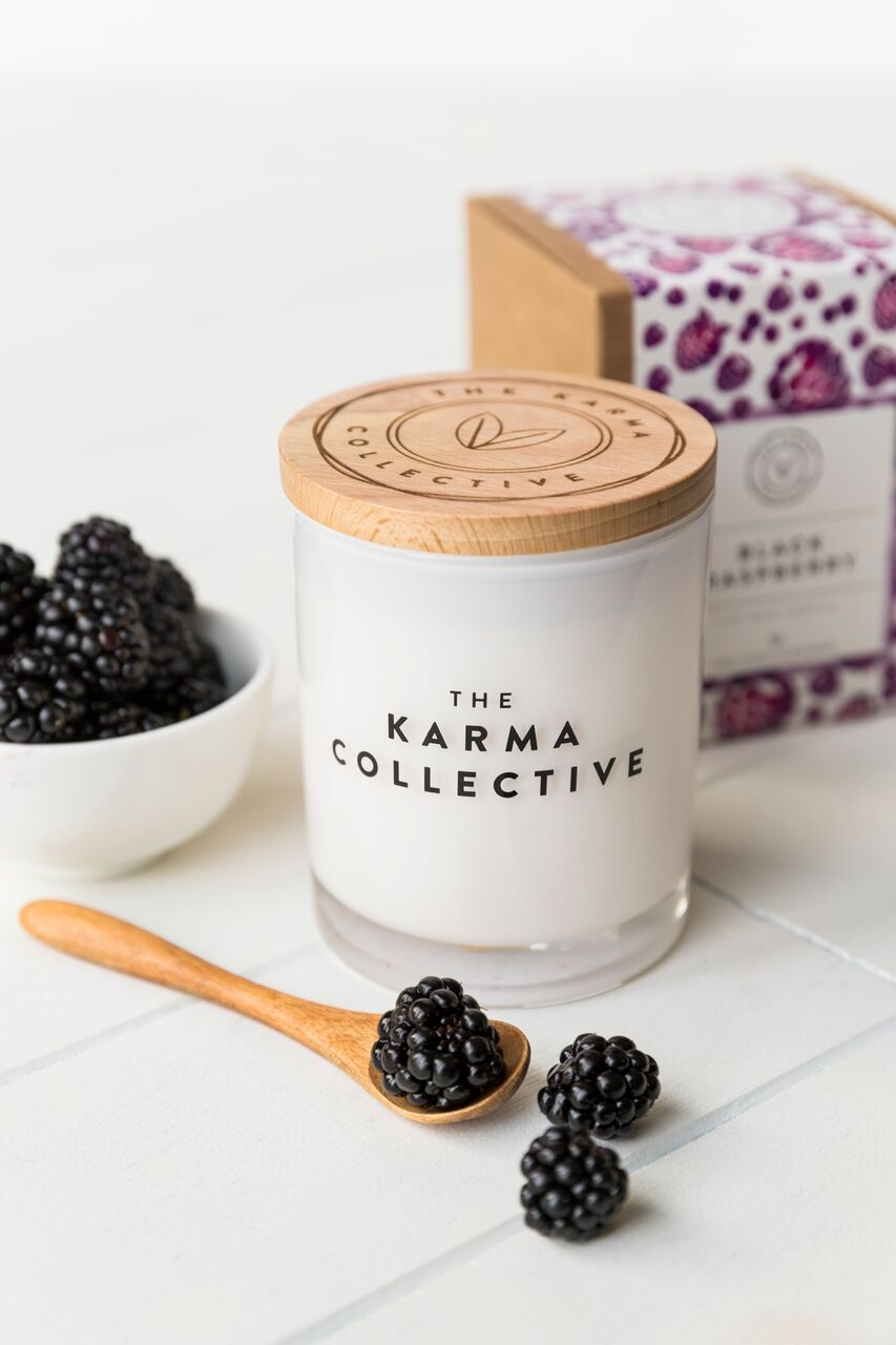 'Black Raspberry' Soy Candle – The Karma Collective