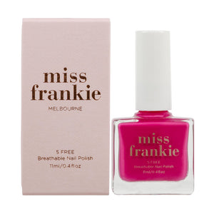 'Crushing On You' Five-Free Nail Polish - Miss Frankie