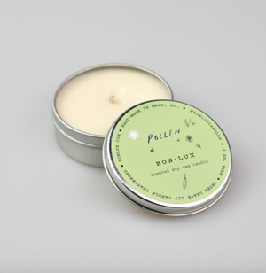Travel Tin Candle in 'Pollen' - BON LUX