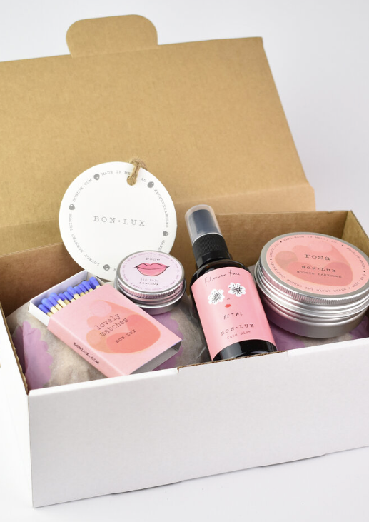 BON LUX - SELF-CARE GIFT BOX ROSE PETAL