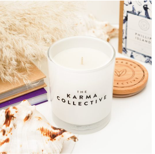 THE KARMA COLLECTIVE - Phillip Island Scented Soy Candle