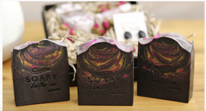 SOAPY BUTTER CO - Black Orchid Soap