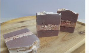 SOAPY BUTTER CO -Strawberry Champagne Soap