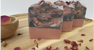SOAPY BUTTER CO - Rose Geranium Soap