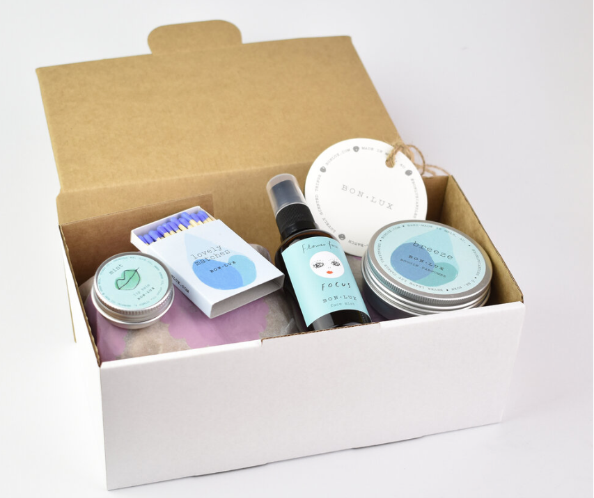 BON LUX - SELF-CARE GIFT BOX FRESH AS THE BREEZE