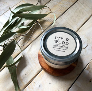 'Australian Bush' Soy Candle - Ivy & Wood