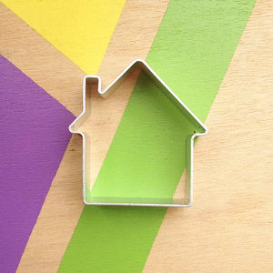 Playdough Cookie Cutter 'House'