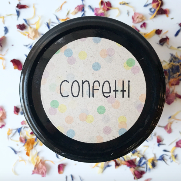 Natural Scented Playdough in 'Confetti'