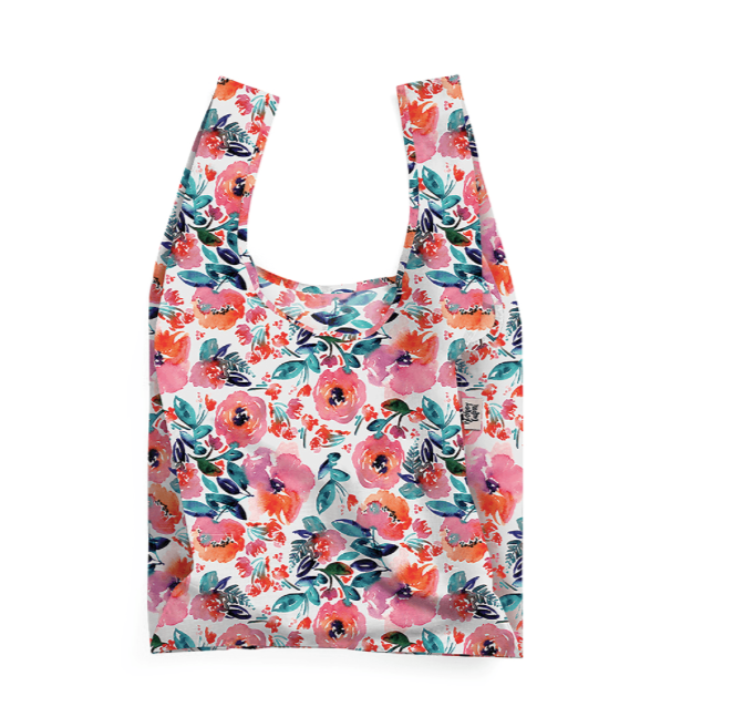 Reusable Shopping Bag 'Candy Florals' - Blushing Confetti