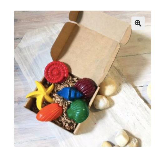 Toddler Sea Shell Crayons - Tinta Crayons