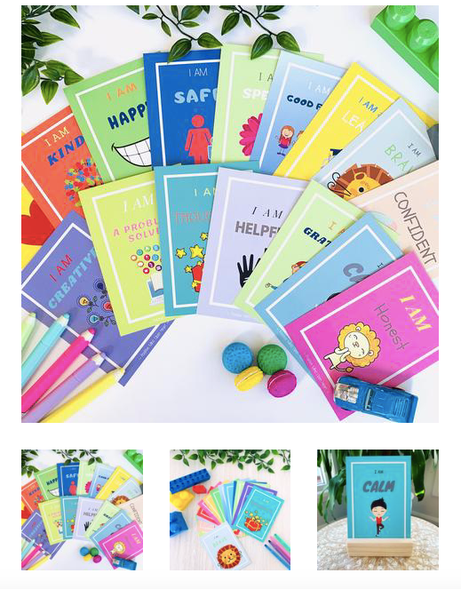 Affirmation Cards for Kids - Little Minds (4-7 yrs)