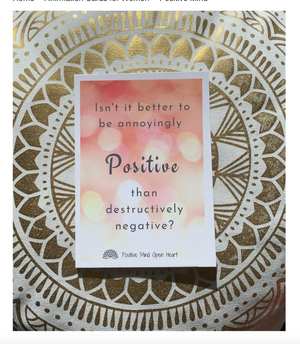 Affirmation Cards for Women - Positive Mind