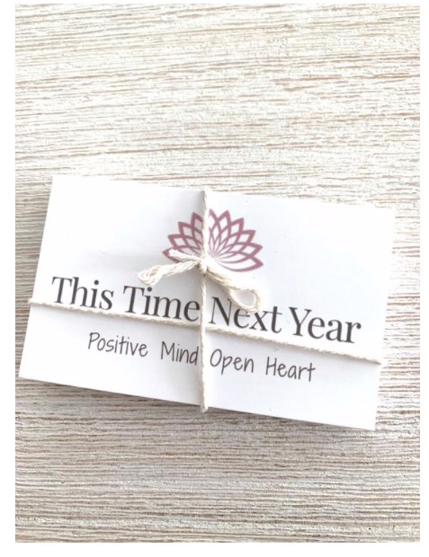 Positive Mind Open Heart - Gifts - This Time  Next Year Jar