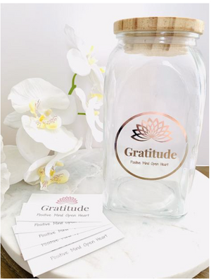 Positive Mind Open Heart - Gifts - Gratitude Jar