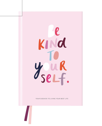 Blushing Confetti - Be Kind Best-Self Journal