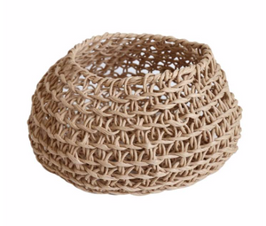 Woven Paper Basket - Upcycle Studio