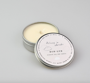 Travel Tin Candle in 'Asleep in Clouds' - BON LUX