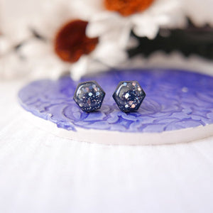 Stud Earrings in 'Starry Night' - Auburn Designs