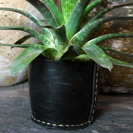 Up-cycled Rubber Planter