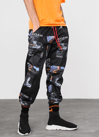 "[Limited] Streetwear Track Pants ""Image Spam"" - UrbanWorld.eu"
