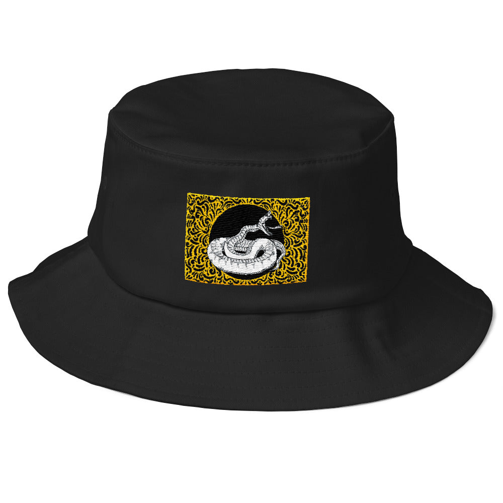 """Snaked"" Old School Bucket Hat - UrbanWorld.eu"