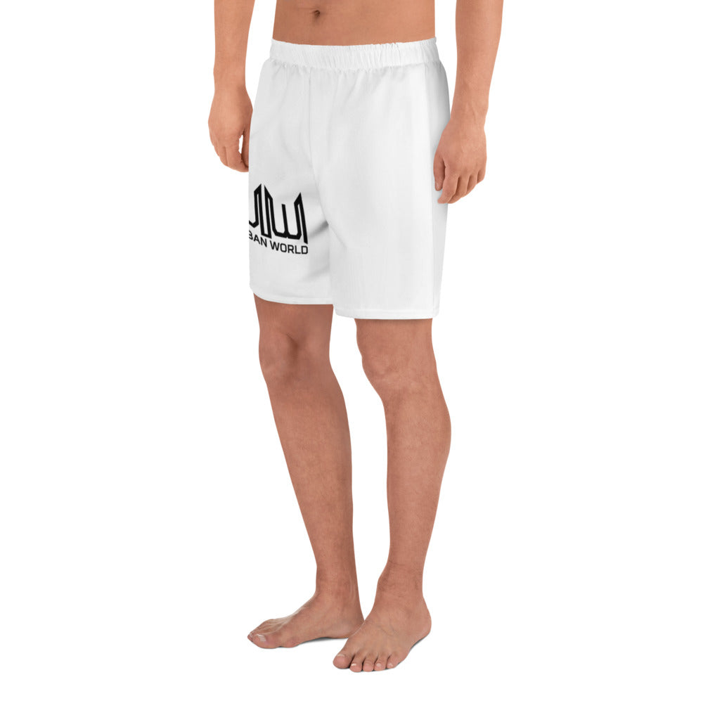 UW Men's Athletic Long Shorts - UrbanWorld.eu
