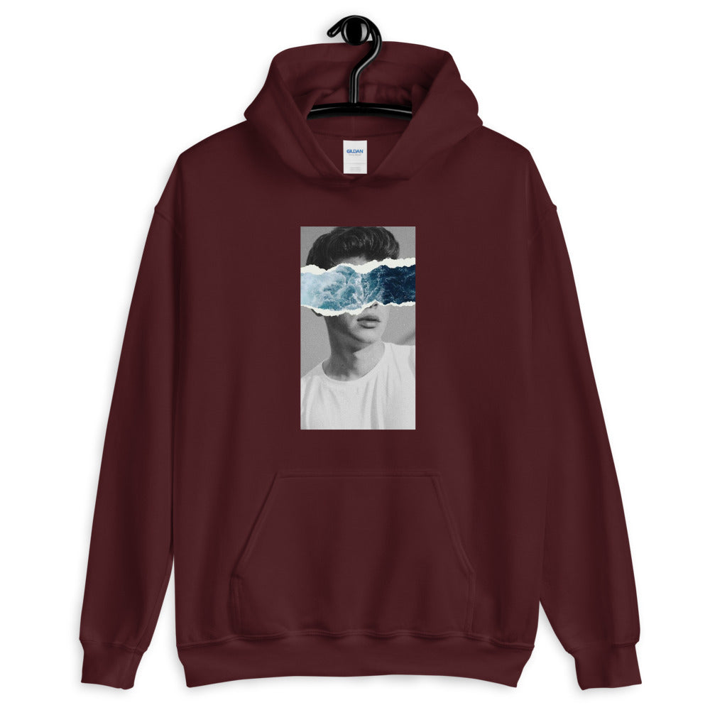 """Waved"" Hooded Sweatshirt - UrbanWorld.eu"