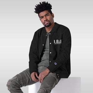 Urbanworld xChampion Embroidered Bomber Jacket - UrbanWorld.eu